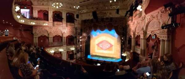 Lyceum Theatre (Sheffield), section: Circle, row: E, seat: 3