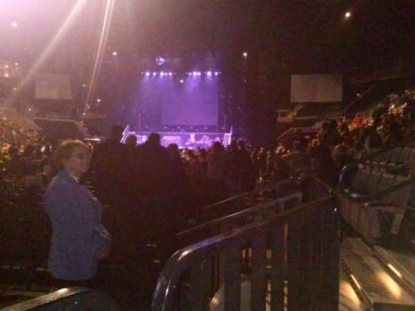 Michelob Ultra Arena, section: 117, row: A, seat: 6