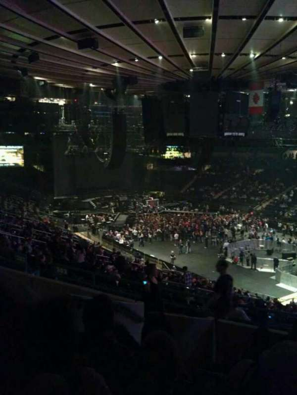 Madison Square Garden, section: 303, row: G, seat: 4