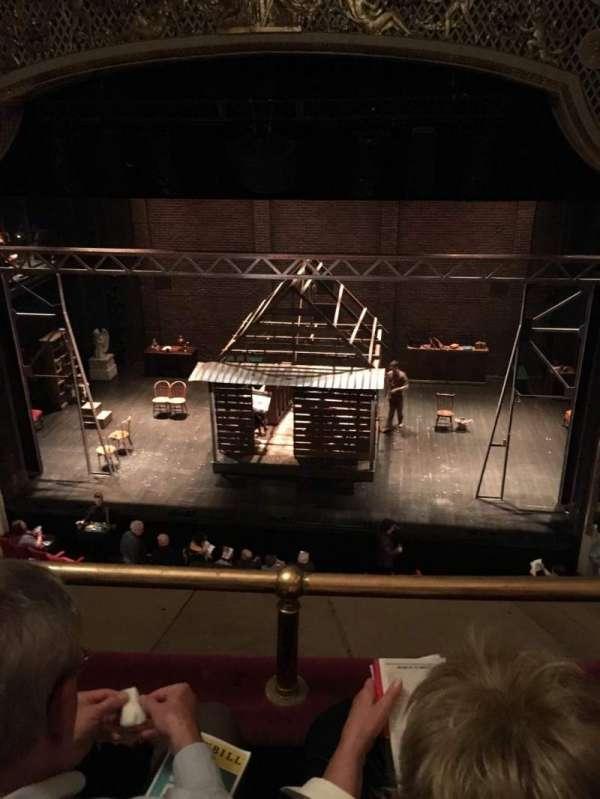 Cort Theatre, section: Balcony, row: B, seat: 112