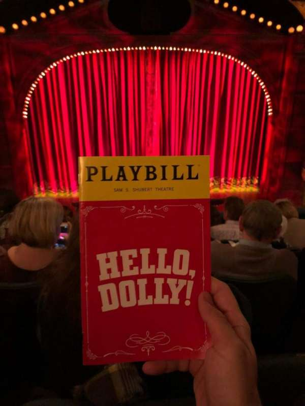 Shubert Theatre, section: Mezzanine, row: F, seat: 109