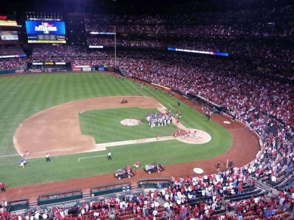 Busch Stadium, section: 357, row: 1, seat: 1