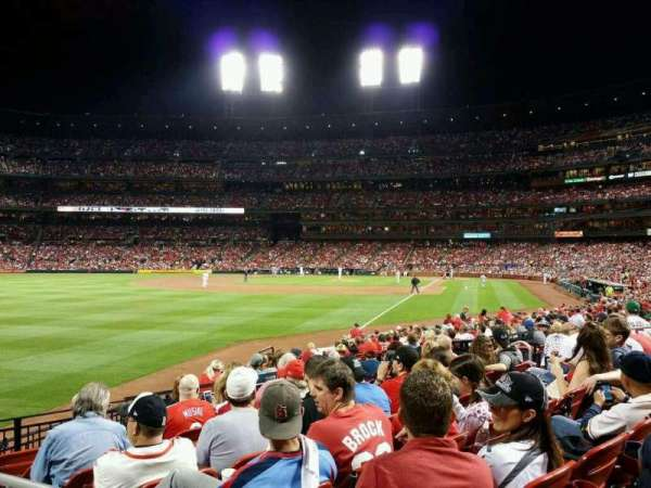 Busch Stadium, section: 168, row: 8, seat: 1