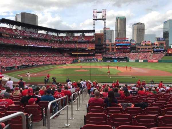 Busch Stadium, section: 144, row: 15, seat: 1