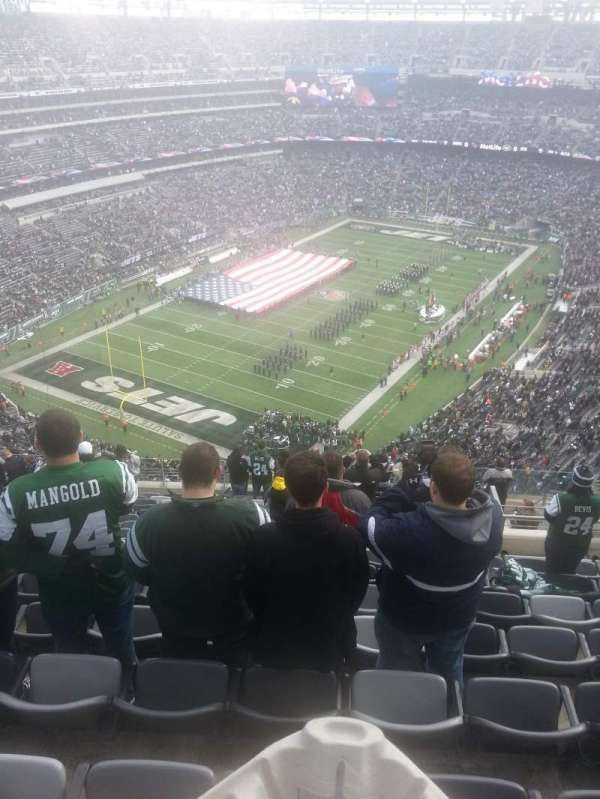 Metlife Stadium, section: 347, row: 20, seat: 6