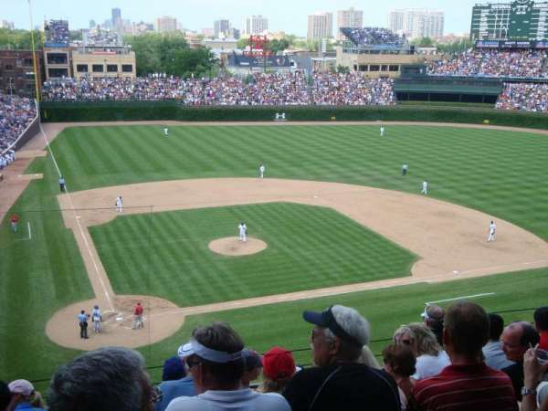 Wrigley Field, section: 321R, row: 7, seat: 7