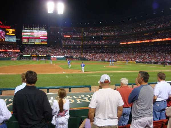 Busch Stadium, section: 157, row: H, seat: 12