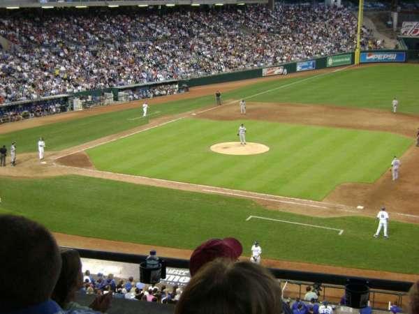 Kauffman Stadium, section: 234, row: D, seat: 7