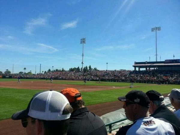 Scottsdale Stadium, section: 121, row: B, seat: 10