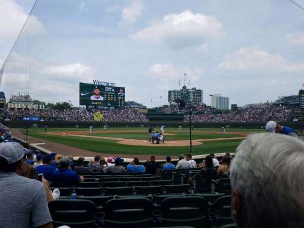 Wrigley Field, section: 18, row: 11, seat: 22