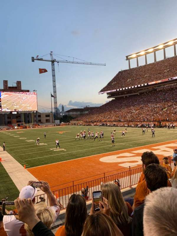 Texas Memorial Stadium, section: 17, row: 7, seat: 40