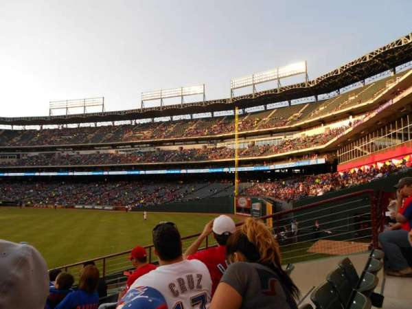 Globe Life Park in Arlington, section: 52, row: 10, seat: 6