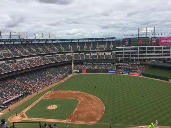 Globe Life Park in Arlington, section: 335, row: 21, seat: ??