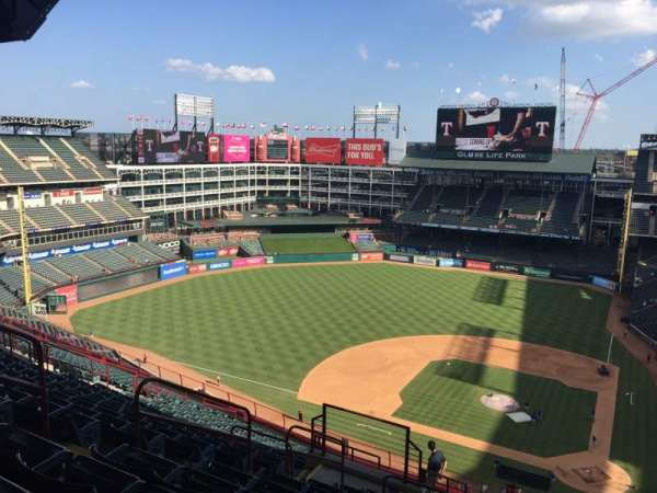 Globe Life Park in Arlington, section: 322, row: 21, seat: ??
