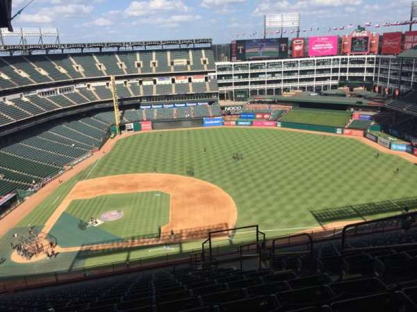 Globe Life Park in Arlington, section: 333, row: 23, seat: ??