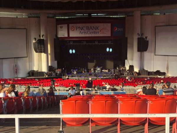 PNC Bank Arts Center, section: 403, row: C, seat: 142