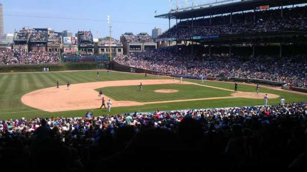 Wrigley Field, section: 211, row: 11, seat: 3
