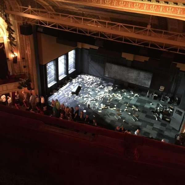 Walter Kerr Theatre, section: Balcony R, row: B, seat: 12