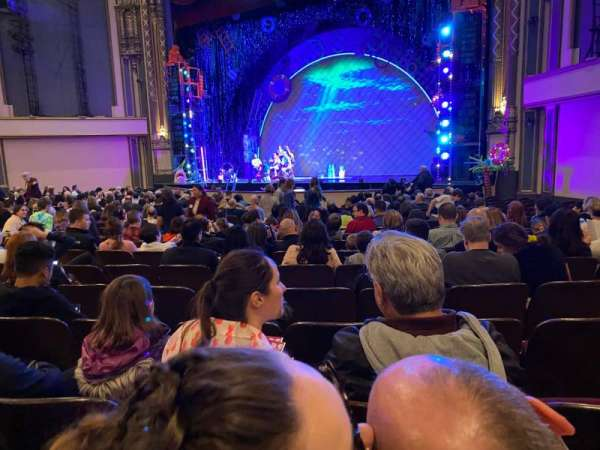 Golden Gate Theatre, section: Orchestra R, row: S, seat: 22