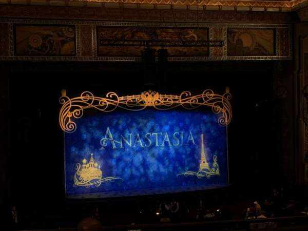 Hollywood Pantages Theatre, section: Mezzanine LC, row: D, seat: 301