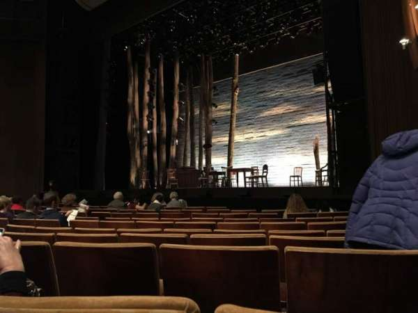 Ahmanson Theatre, section: Orchestra, row: H, seat: 4
