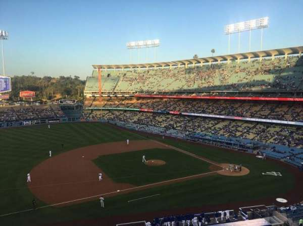 Dodger Stadium, section: 23RS, row: B, seat: 11