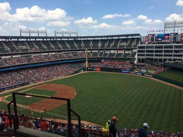 Globe Life Park in Arlington, section: 340, row: 15, seat: 4