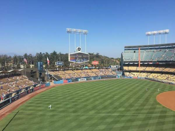 Dodger Stadium, section: 39RS, row: B, seat: 3