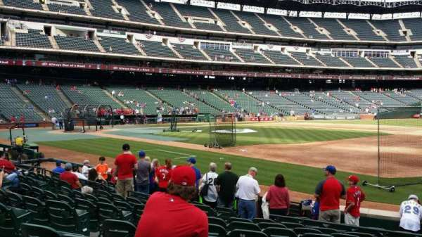 Globe Life Park in Arlington, section: 36, row: 9, seat: 7
