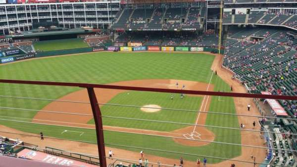Globe Life Park in Arlington, section: 322, row: 2, seat: 17