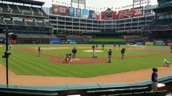 Globe Life Park in Arlington, section: 25, row: 5, seat: 20