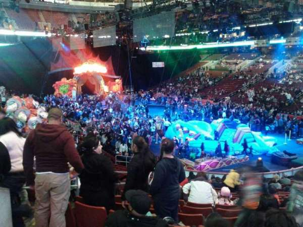 Wells Fargo Center, section: 105, row: 21, seat: 2