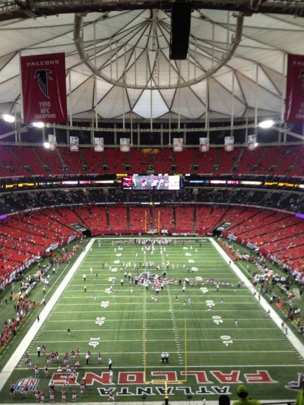 Georgia Dome, section: 335, row: 13, seat: 20