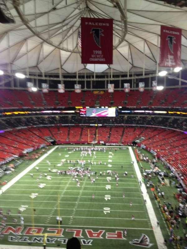 Georgia Dome, section: 333, row: 10, seat: 3