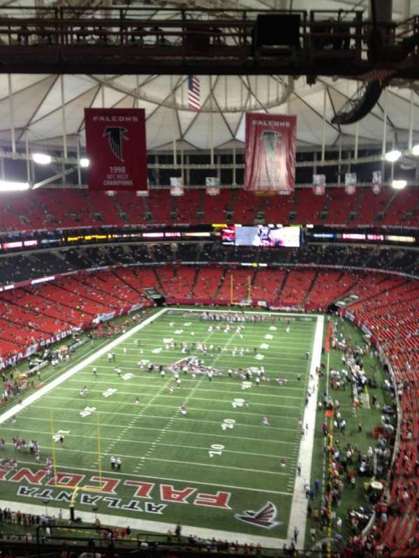 Georgia Dome, section: 332, row: 18, seat: 5