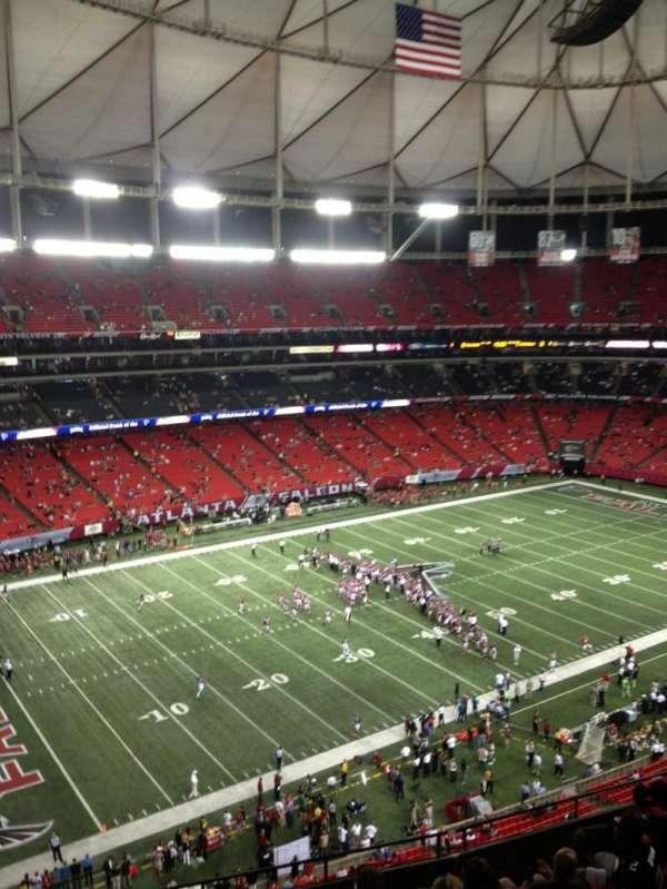 Georgia Dome, section: 328, row: 15, seat: 21