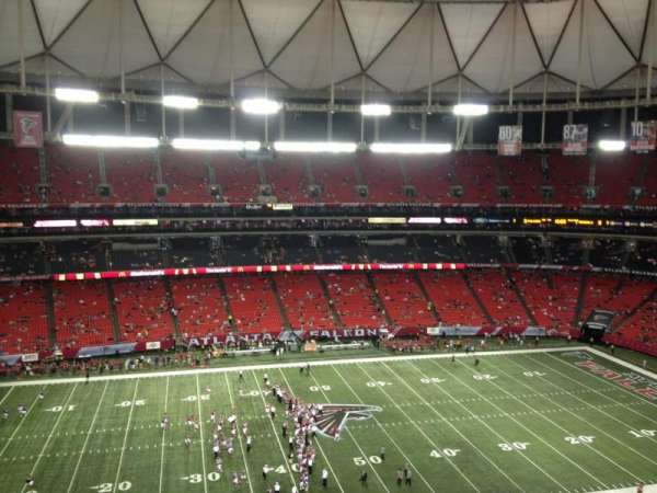 Georgia Dome, section: 326, row: 9, seat: 1