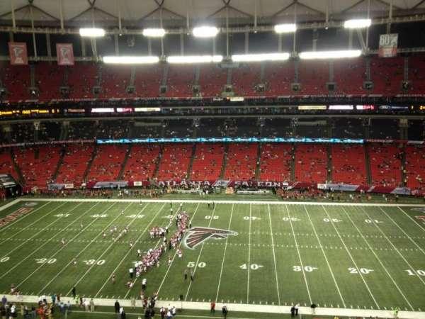 Georgia Dome, section: 323, row: 2, seat: 7