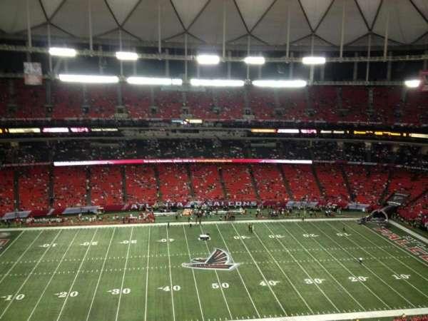 Georgia Dome, section: 347, row: 5, seat: 14