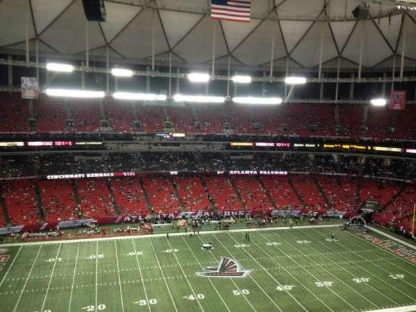 Georgia Dome, section: 349, row: 9, seat: 19
