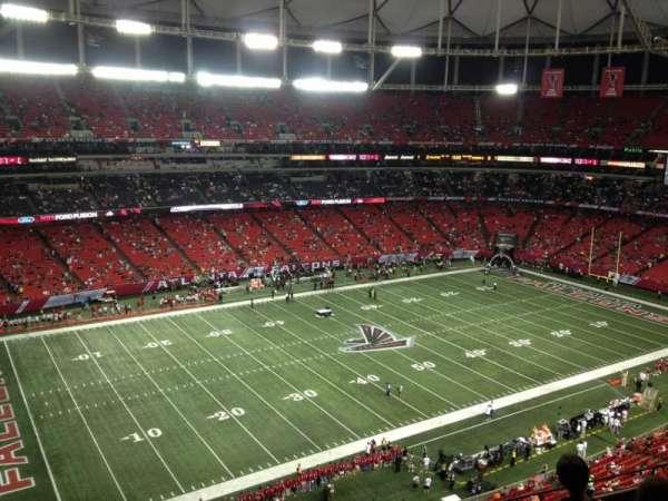 Georgia Dome, section: 351, row: 9, seat: 1