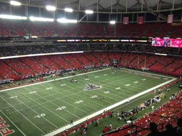 Georgia Dome, section: 352, row: 8, seat: 16