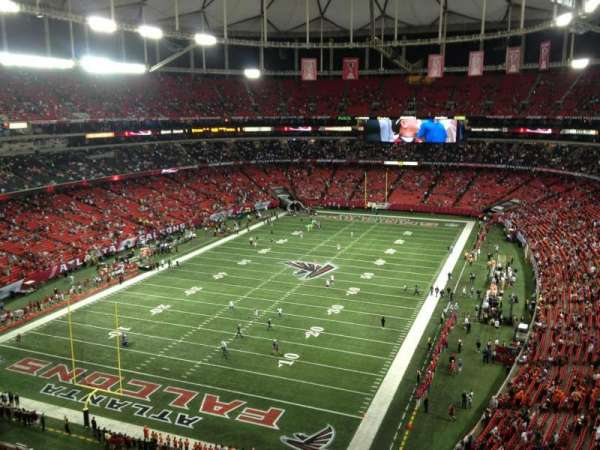 Georgia Dome, section: 304, row: 2, seat: 5