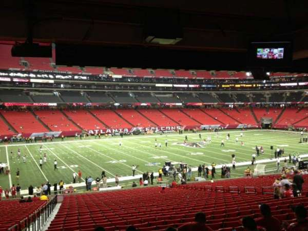 Georgia Dome, section: 120, row: 34, seat: 11