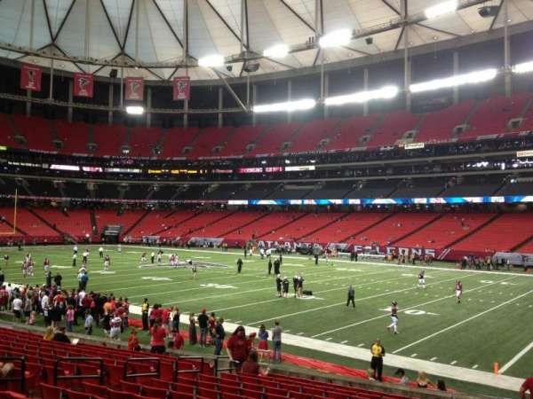 Georgia Dome, section: 111, row: 16, seat: 13