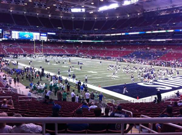 The Dome at America's Center, section: 134, row: U, seat: 2