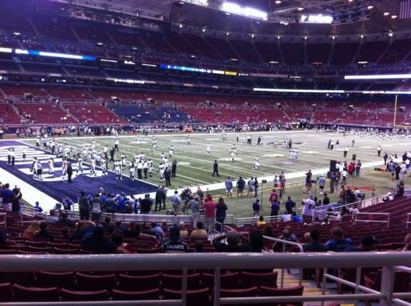 The Dome at America's Center, section: 149, row: U, seat: 2