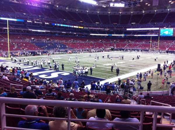 The Dome at America's Center, section: 151, row: U, seat: 2