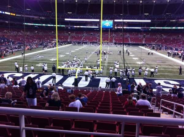 The Dome at America's Center, section: 154, row: U, seat: 2