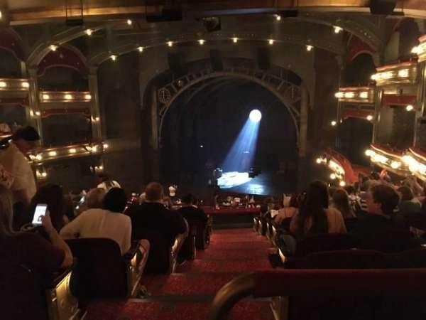 Lyric Theatre, section: Dress Circle R, row: K, seat: 2